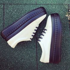Chiko Noruena Lace Up Thick Sole Sneakers