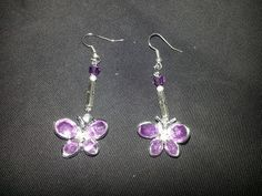 Ear Rings made with our Jewel Butterflies. http://www.swannagencies.com.au/shop/category/bling-diamonds-pearls