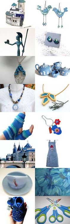 blue flavors in November by Christa Mavropoulou on Etsy--Pinned with TreasuryPin.com