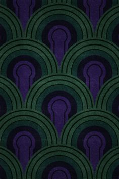 Wallpaper from The Overlook Hotel in 'The Shining'