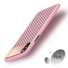 Heat Dissipation Phone Cases for iphone X Case Hard PC Full Protective Cover for iPhone 10 Fitted Cases Shell With Holder Stand