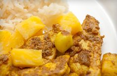 Del Monte - Red Curried Chicken with Pineapple.