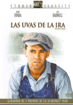 Las uvas de la ira (1940) EEUU. Dir: John Ford. Drama. Pobreza. Familia. Vida rural. Road Movie. Migración. Gran Depresión - DVD CINE 1554