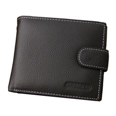 2016 Euro Genuine Leather Men Wallets Famous Brand Men Hasp Wallet Male Coin Purse ID Card Dollar Bill Wallet Free Shipping