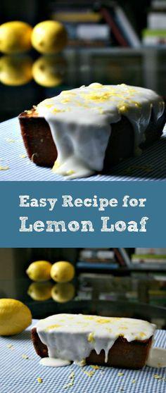 recipe for lemon loaf cake