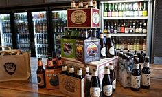 Bottledog, the new craft beer shop near King's Cross in London.