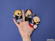 #DIY #marionnettes de doigts www.celinutile.com