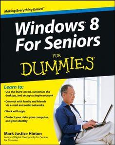 #ISTE13 Windows 8 For Seniors For Dummies ha! #SurfaceRT