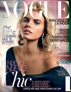 Vogue Spain January 2012, Maryna Linchuk By Vincent Peters