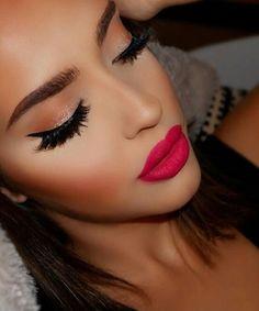Gorgeous Makeup: Tips and Tricks With Eye Makeup and Eyeshadow – Makeup Design Ideas Makeup Inspo, Makeup Inspiration, Makeup Tips, Eye Makeup, Hair Makeup, Makeup Products, Glitter Mascara, Makeup For Beginners, Girls Makeup