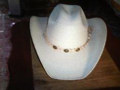 Sombrero palma blanca