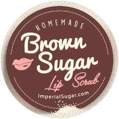 Brown Sugar Lip Scrub | Imperial Sugar Recipe