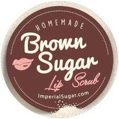 Brown Sugar Lip Scrub   Imperial Sugar Recipe
