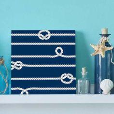 quadro decorativo navy rope