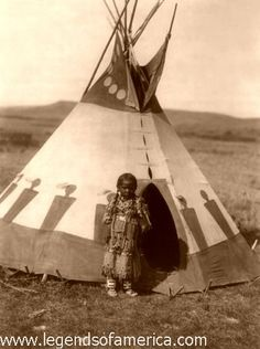 Blackfoot Child (1910) by Edward S. Curtis