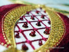 Goldwork Pomegranate