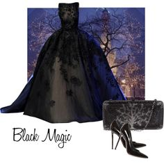 """""""Black Magic"""" by moodycat on Polyvore"""