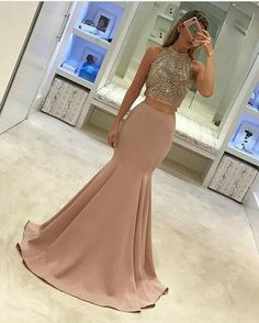 Two Piece Prom Dress, 2017 Prom Dress, Mermaid Long Prom Dress, Gorgeous  Formal Evening Dress sold by prom dress. Shop more products from prom dress  on ... fc37ccd9cf