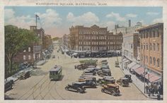 Haverhill. Washington square.