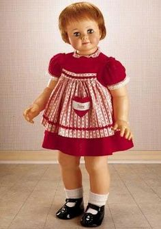 Saucy Walker Doll  AKA Marikay's creppy doll !!! Wonder whatever happened to her?