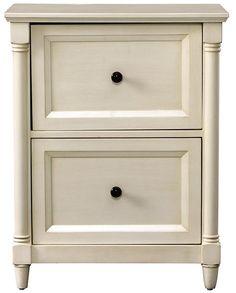 Montaigne 2-Drawer File Cabinet