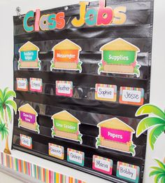 """83 Likes, 3 Comments - Teacher Created Resources (@teachercreated) on Instagram: """"It is easy to create a beach themed classroom by combining pieces from the new Tropical Punch…"""""""