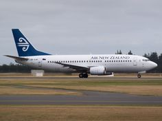 Air New Zealand 737 at Christchurch  Type: Boeing 737-33R Registration: ZK-SJB Location: Christchurch International Airport Date: 28/12/2013