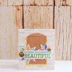 Create Something Beautiful card by Evelyn Pratiwi Yusuf featuring Jillibean Soup Sew Sweet Sunshine Soup