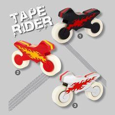 Pylones   Dérouleur De Scotch - Tape Rider Productos Divertidos 378fb2d2168f