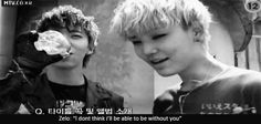 """This gif just cracks me up every time I see it!"" BAP, Yongguk and Zelo. Zelo so cute and Yongguk cracking XD"