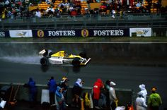 Thierry Boutsen wins the 1989 Australian GP in the Williams FW13