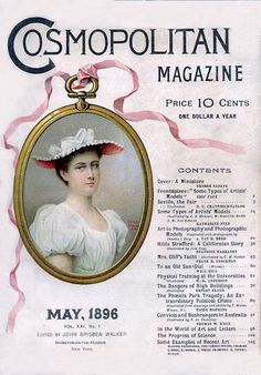 COSMOPOLITAN MAGAZINE 1896.