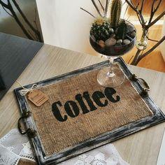 CRNdesignbycerengirgin  El yapımı ahşap boyama tepsi / Handmade wooden painting tray