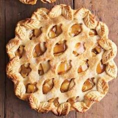 Vintage Apple Pie Serves 8 An apple pie that boasts a vintage look and flavor. A mainstay for apple pies. This pie is simply splendid.