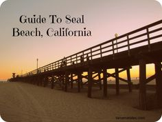 Top Things to Do in Seal Beach, California - Tanama Tales Seal Beach California, Southern California Beaches, Anaheim California, California Vacation, Disneyland California, California Living, Oh The Places You'll Go, Places To Visit, Balboa Beach