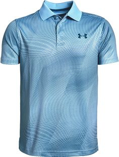 Under Armour Boys' Performance Novelty Golf Polo, Size: XS, Blue Boys Online, Black Polo Shirt, Kids Shirts, Polo Shirts, Sport Wear, Big Boys, Under Armour, Mens Tops, Golf Accessories