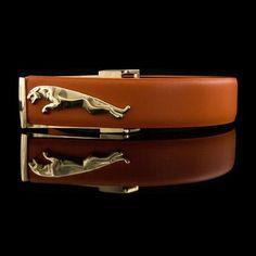 Urban Jaguar Embossed Belt