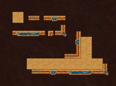 Game art, tile objects