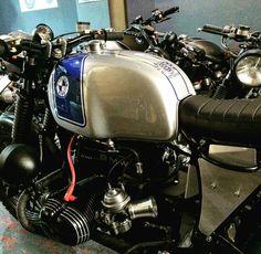 Custom Cafe Racer, Cafe Racer Bikes, Cafe Racers, Bmw Boxer, Motorcycles, Classic, Vintage, Design, Motorbikes