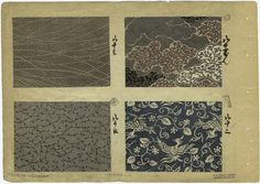 [Printed swatches, Japan.] - ID: 825846 - NYPL Digital Gallery
