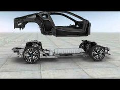 BMWi i8 LifeDrive Architecture