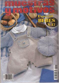 Мобильный LiveInternet Muestras y motivos Bebes №17 | wita121 - wita121 | Vogue Knitting, Knitting Books, Crochet Books, Knit Crochet, Baby Boy Knitting Patterns, Baby Knitting, Crochet Patterns, Knitting Magazine, Crochet For Kids