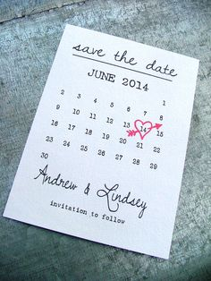 Save the Date 7 Ideen um euren Hochzeitstermin originell