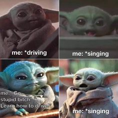 Funniest Baby Yoda Memes Ever, Collected Baby Yoda Memes, Star Wars Mandalorian Memes, The Most Relatable Baby Yoda Memes Really Funny Memes, Stupid Funny Memes, Funny Relatable Memes, Hilarious, Relatable Posts, Yoda Funny, Yoda Meme, Star Wars Meme, Starwars