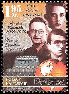 Jerzy Ró¿ycki (1909-1942), Polish mathematician and cryptologist who worked at breaking the German Enigma code. Marian Rejewski (1905-1980), Polish mathematician and cryptologist who in 1932 solved the plugboard-equipped Enigma machine, the main cipher device used by Germany. Henryk Zygalski (1908-1978), Polish mathematician and cryptologist who worked at breaking the German Enigma code.
