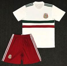 bf212b297e1 2018 World Cup Youth Kit Mexico Away Replica White Suit  BFC838  Soccer  Nation