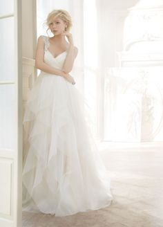 I found my dream dress!! OMG!!!!!! PLEASE Bridal Gowns, Wedding Dresses by Hayley Paige - Style HP6350