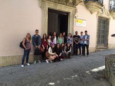 Visita al Archivo Histórico Provincial de Almería (30/04/2015)
