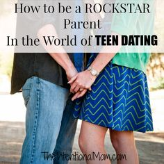 Being a parent with dating teens doesn't have to be a nightmare, and establishing and adhering to these basic rules and guidelines is a great way to get to well on your way to handling it like a rockstar!