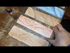 Способ покраски кирпича из гипса !! - YouTube